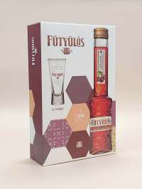 Drink Express   Fütyülős black cherry liqueur with whistling honey bed + 1 cup in a paper gift box 30%   Menu24.hu