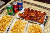 Ali Baba Gyros | BBQ Csirkeszárny box (halal) | Menu24.hu