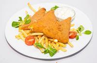 Joyces Irish Pub   Rántott trappista sajt sült burgonyával és tartármártással   Menu24.hu