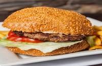 Upps | Hamburger DeLuxe csirke | Menu24.hu