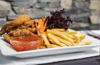 Upps | Breaded chicken stripes | Menu24.hu