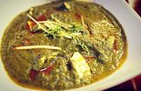 Kashmir | Chicken Saag with Spinach | Menu24.hu