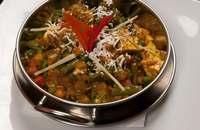 Kashmir   Vegyes zöldségek kesudió szószban   Menu24.hu