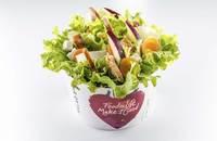 Salad Box Debrecen | Salad with 5 ingredients + grilled chicken breast | Menu24.hu