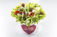 Salad Box Debrecen | Salad with 5 ingredients + beef | Menu24.hu