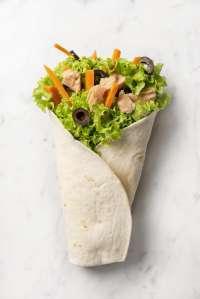Salad Box Debrecen | Tonhalas King Wrap | Menu24.hu