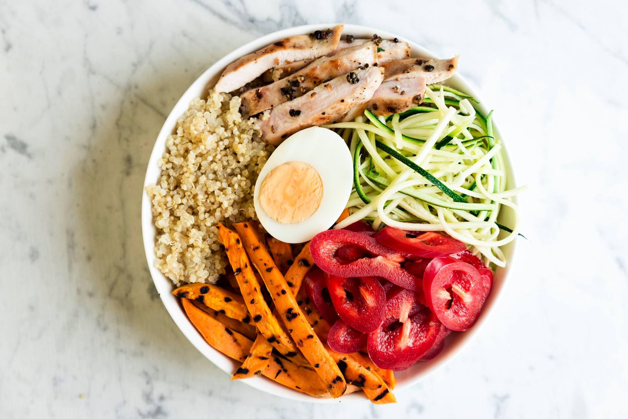 Salad Box Debrecen | Nutrimix quinoa | Menu24.hu