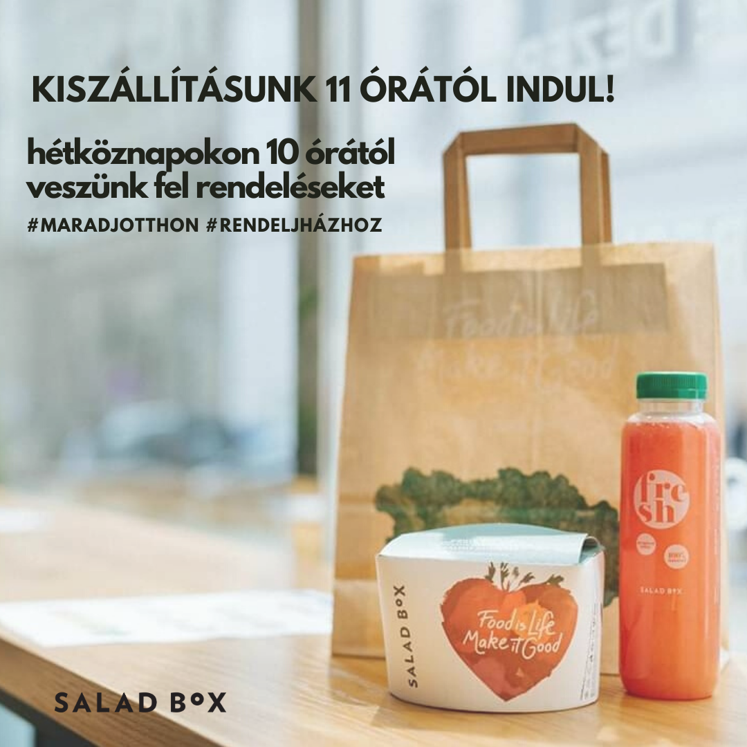 Salad Box Debrecen | Menu24.hu
