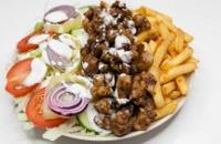 40es Palacsintázó | Gyros plate double meat(weighs half a kilo) | Menu24.hu