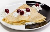 40es Palacsintázó | Cottage cheese-cream with cherry | Menu24.hu