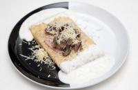 40es Palacsintázó | Mushrooms and cheese | Menu24.hu