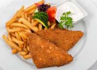 Station Bistro | Fried Cheese with Fried Potatoes and Tartar sauce | Menu24.hu