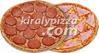 Király Pizza | KIRÁLY DUO SONKÁS – SZALÁMIS | Menu24.hu