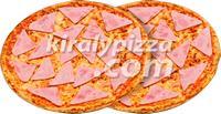 Király Pizza | KIRÁLY DUO 2 SONKÁS PIZZA | Menu24.hu