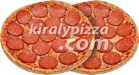 Király Pizza | KIRÁLY DUO 2 SZALÁMIS | Menu24.hu
