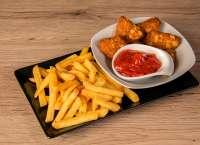 Before Bar |  BAKED CHEDDAR CHEESE IN TORTILLA CHIPS COAT | Menu24.hu