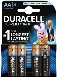 Quick Market - Online Grocery Shop | Duracell turbo max AA (pc) | Menu24.hu