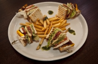Leroy Cafe | Leroy Club sandwich | Menu24.hu