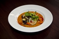 Leroy Cafe | TOM-YUM soup with vegetables and wood ear mushroom | Menu24.hu