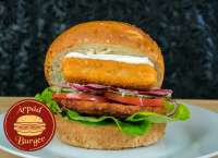Árpád Burger | Normal Breaded Fish Finger Burger | Menu24.hu