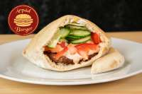 Árpád Burger | Meatpatties in pita | Menu24.hu