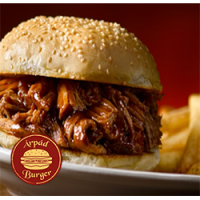 Árpád Burger | Normal Texas Pulled Pork Burger | Menu24.hu