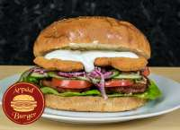 Árpád Burger | Giant Breaded Chicken Burger | Menu24.hu