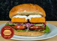 Árpád Burger | Óriás Rántott Halrudas Burger | Menu24.hu