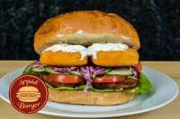 Árpád Burger | Giant Breaded Fish Finger Burger  | Menu24.hu