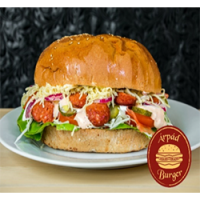 Árpád Burger | Giant Gyros Chicken Breast Burger | Menu24.hu