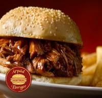 Árpád Burger | Normal Texas Pulled Pork Burger + fries + FREE PEPSI 0,33l | Menu24.hu