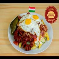 Árpád Burger | Giant Árpád Gurmet Dish  | Menu24.hu