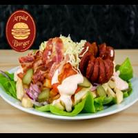 Árpád Burger | Giant Árpád Gourmet Plate  | Menu24.hu