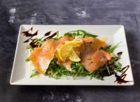 Corleone Ristorante | Carpaccio di salmone | Menu24.hu