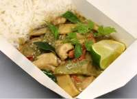 Wok to Box | THAI GREEN CURRY  | Menu24.hu