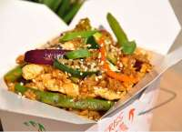 Wok to Box | BARNA RIZS | Menu24.hu