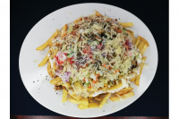 Jorgos Gyros | XL Shawarma plate with cheese (1kg) | Menu24.hu