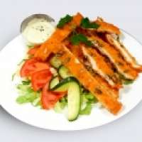 Fit House | Multigrain chicken breast with salad | Menu24.hu