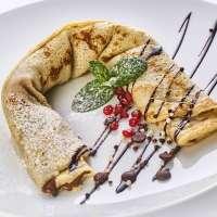 Creppy Palacsinta Bistro Debrecen | Hazelnut cream crepe | Menu24.hu