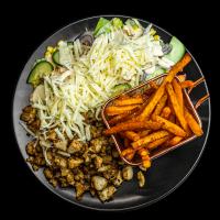 Monkey Burger | Gyros tál édesburgonyával | Menu24.hu