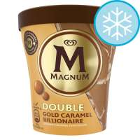 Ben & Jerrys Ice Cream Shop Fagyifutár | Magnum Double Gold Caramel Billionaire 440ml | Menu24.hu