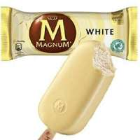 Ben & Jerrys Ice Cream Shop Fagyifutár | MAGNUM WHITE CHOCOLATE | Menu24.hu