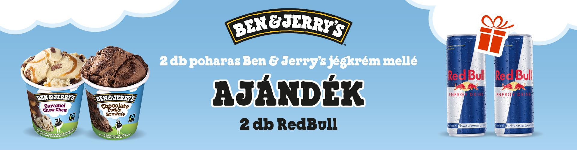 Ben & Jerrys Ice Cream Shop Fagyifutár | Menu24.hu