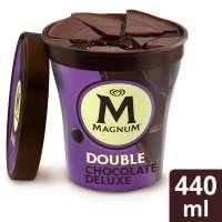 Magnum Ice Cream Shop Fagyifutár | Magnum Double Choclate Deluxe 440ml | Menu24.hu