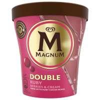 Magnum Ice Cream Shop Fagyifutár | Magnum Double Ruby Berries & Cream 440ml | Menu24.hu