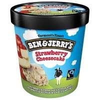 Magnum Ice Cream Shop Fagyifutár | Ben & Jerry's Strawberry Cheesecake Ice Cream 465ml | Menu24.hu